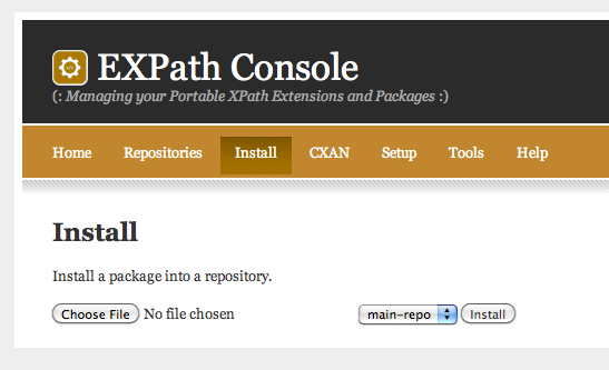EXPath Console for MarkLogic